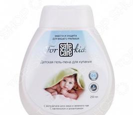 Пена для купания Safe and Care For Kids