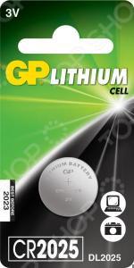 Элемент питания GP Batteries CR2025-7C1