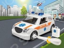 Сборная модель автомобиля Revell «Легковая машина скорой помощи»