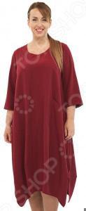 Платье Pretty Woman «Сивилла». Цвет: бордовый