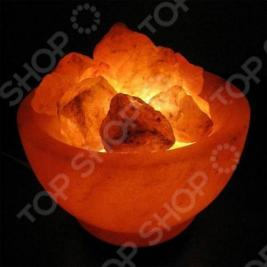 Лампа солевая ZENET Чаша с кристаллами