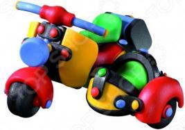 Конструктор игровой Mic-o-mic Мотороллер с коляской