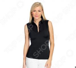 Блуза Laura Amatti «Идеальный силуэт». Цвет: черный