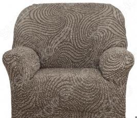 Натяжной чехол на кресло Еврочехол «Этна. Сицилия»