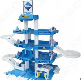 Набор игровой для мальчика Wader Aral-2 «Паркинг 4-уровневый»