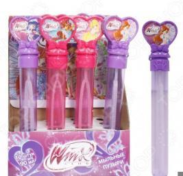 Мыльные пузыри 1 Toy Winx «Волшебная палочка». В ассортименте