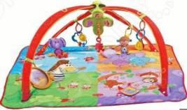 Развивающий коврик Tiny love «Разноцветное сафари»