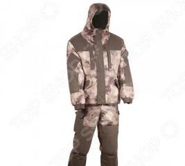 Костюм для охоты и рыбалки зимний Huntsman «Ангара». Рисунок: туман