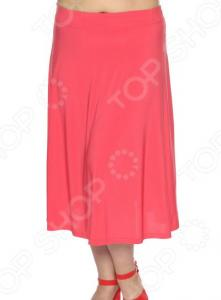 Юбка VEAS «Элегантная». Цвет: розовый