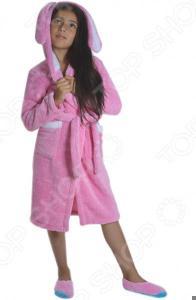 Халат детский Dream Time «Зайка». Цвет: розовый