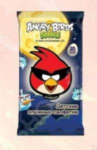 Набор салфеток влажных детских Авангард AB-48737 Angry Birds