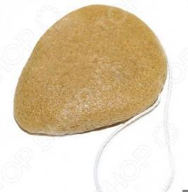 Губка-спонж Bradex «Конняку» с экстрактом куркумы. В ассортименте