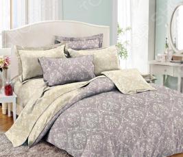 Комплект постельного белья Cleo 011-PE. Семейный