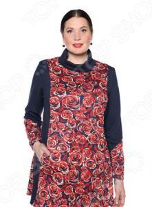 Блуза Pretty Woman «Бьянка». Цвет: красный