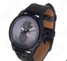 Часы наручные Mitya Veselkov «Ежик с котомкой» MVBlack