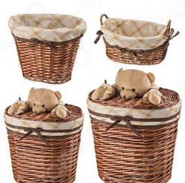 Набор корзин для игрушек Villa Bianca 190-100
