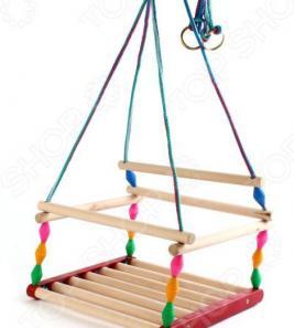 Качели для детей Деревянные игрушки - Владимир «Ветерок» СУС6. В ассортименте