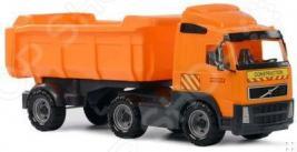 Машина игрушечная с аксессуарами POLESIE Volvo «Самосвал с полуприцепом»