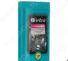 Набор салфеток чистящих Intro для LCD телевизоров и плазменных панелей Intro