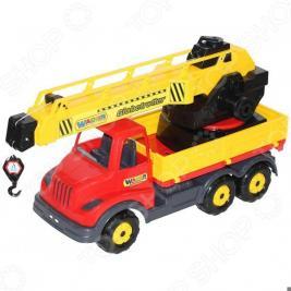 Машинка игрушечная Wader с поворотной платформой «Муромец»