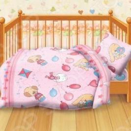 Детский комплект постельного белья Кошки-Мышки Веселые друзья