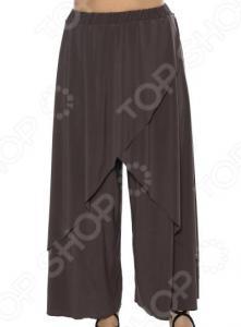 Юбка-брюки Pretty Woman «Крылья Пегаса». Цвет: кофейный