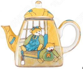 Чайник сувенирный Elan Gallery «Мишки»