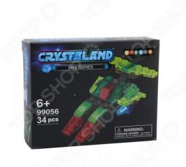 Конструктор для мальчика N-BRIX Crystaland «Космический корабль»