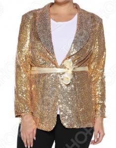 Пиджак Pretty Woman «Блеск звезды». Цвет: золотистый