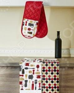 Набор кухонный: прихватка двойная и 2 полотенца Primavelle «Дизайн»