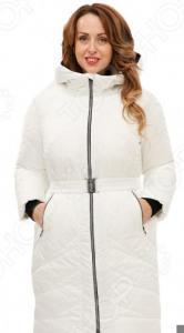 Пальто D`imma «Лина». Цвет: белый