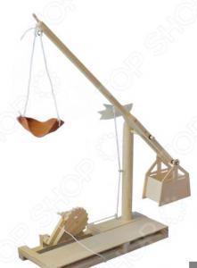 Конструктор деревянный Bradex «Катапульта. Леонардо Да Винчи»