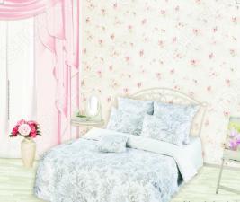 Комплект постельного белья Романтика Ирландское кружево. 1,5-спальный