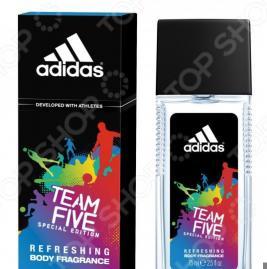 Парфюмированная вода для мужчин Adidas Team Five, 75 мл
