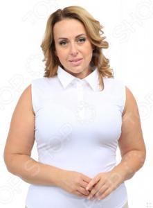 Блуза Laura Amatti «Идеальный силуэт». Цвет: белый