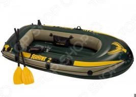 Лодка надувная с аксессуарами Intex с68347 «Морской ястреб»
