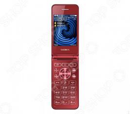 Мобильный телефон-раскладушка Texet TM-400
