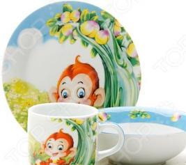 Набор посуды для детей Loraine «Зверек»