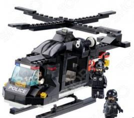 Конструктор игровой 1 Toy «Полицеский спецназ. Воздушная охрана»