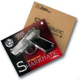 Пистолет с пистонами Edison Giocattoli Sharkmatic Historic-Edition