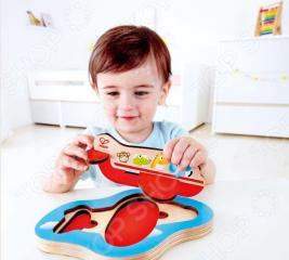 Вкладыши для малыша Hape «Самолет» 3D