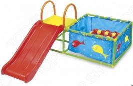 Игровой центр: бассейн и горка Bradex Deluxe. Количество мячей: 50 шт