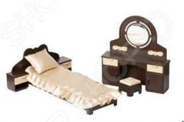 Набор мебели игрушечный для спальни Огонек «Коллекция»