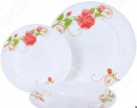 Набор столовой посуды Rosenberg RGC-100103, 18 предметов
