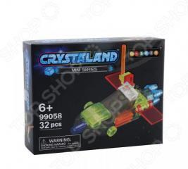 Конструктор игрушечный N-BRIX Crystaland «Беспилотный Самолет»
