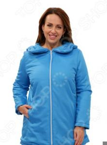 Куртка СВМ-ПРИНТ «Восточный ветер». Цвет: голубой