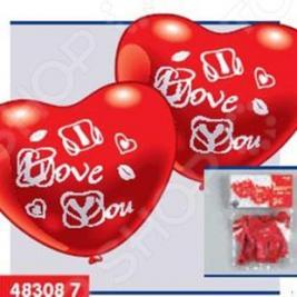 Шарики надувные Everts «Я люблю тебя»