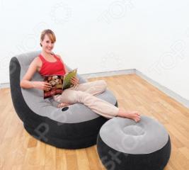 Кресло и пуфик Intex 68564