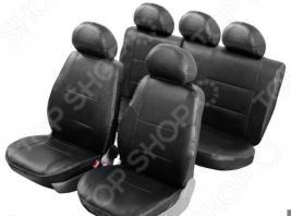 Набор чехлов для сидений Senator Atlant Hyundai Solaris 2010-2017 хэтчбек