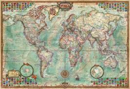 Пазл 1000 элементов Educa «Политическая карта мира»